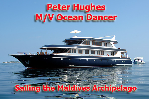 Peter Hughes Ocean Dancer in the Maldives - Photo copyright Ken Knezick - Island Dreams