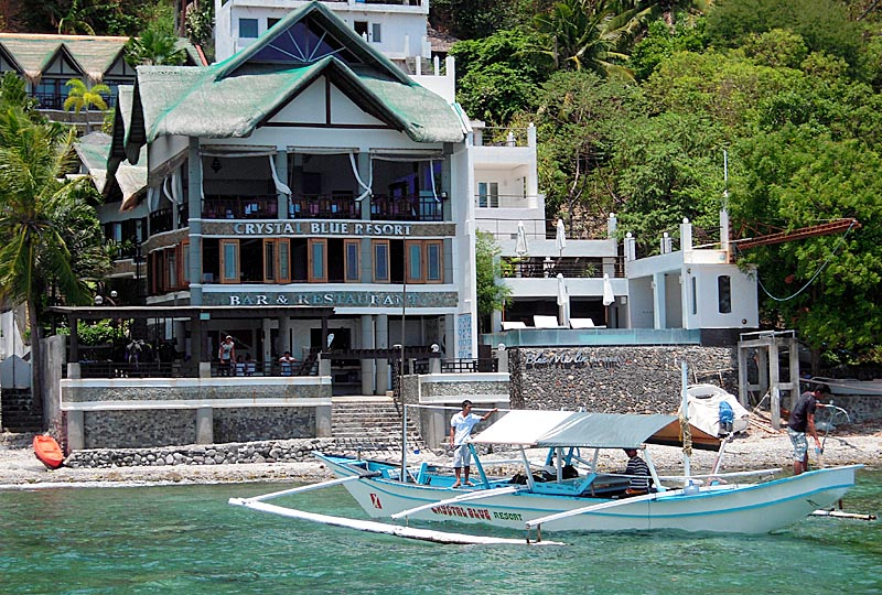 Crystal Blue Resort, Anilao, Batangas, Philippines