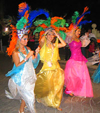 Carnaval in Cozumel, February 2006 - photo by Sheryl Shea of Aqua Safari Cozumel