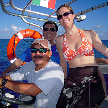Fun on the water in Cozumel, Mexico - Image copyright Ken Knezick, Island Dreams