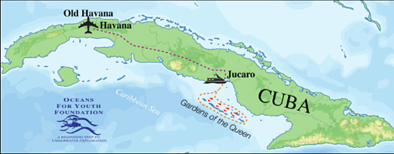 Oceans for Youth Cuba Program
