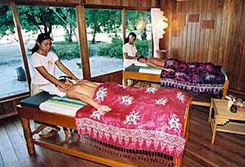 Spa at Gangga Island Resort