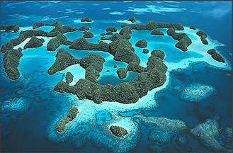 Palau's Famous Rock Islands