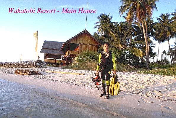 Main House at Wakatobi Resort